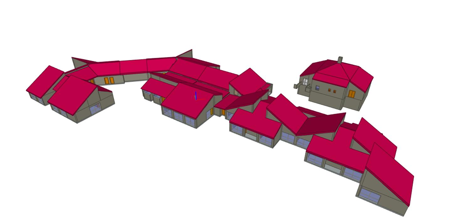 Réalisation maquette 3D d''une école primaire 0